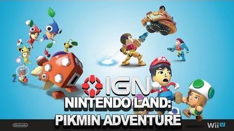 Nintendo Land Pikmin Adventure Developer Commentary