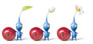 Nintendo, P3, Artwork, Charakter, Blaue Pikmin