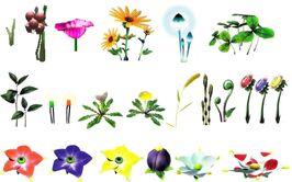 Pikmin 2 Plants