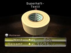 Superhaft-Textil ingame