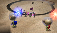 White Pikmin Dig