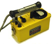 Cdv-700 geiger counter circa 1960