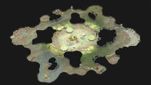 Map 25 buried pond a