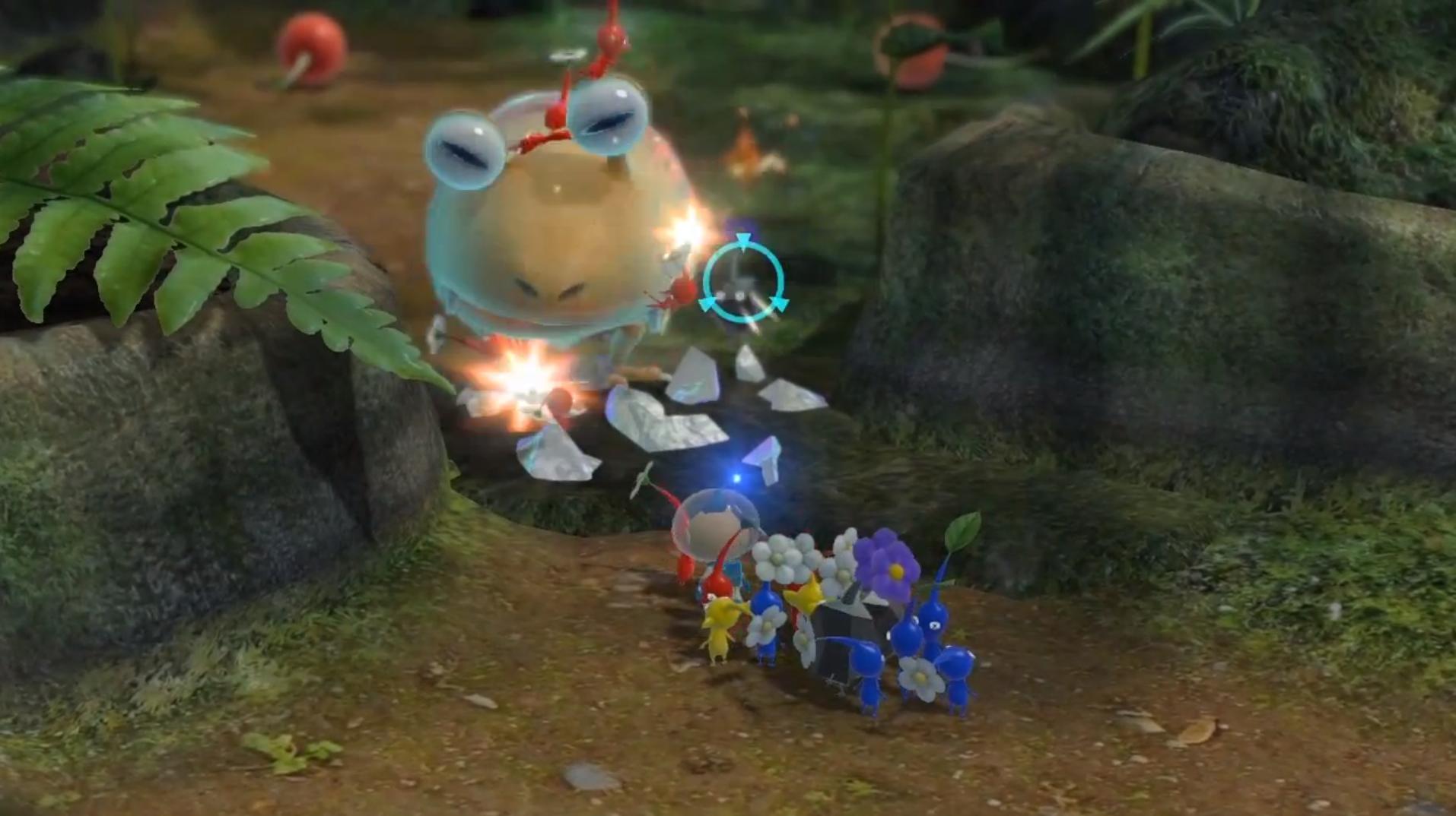 bulborb pikmin 3 enemies