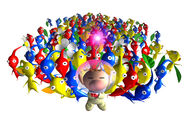 Lots of pikmin