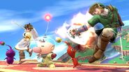 Olimar and Pikmin Smash pic 10