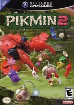 Pikmin 2 cover