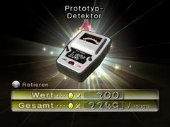 Prototyp-Detektor ingame