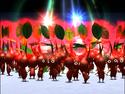 P2 Screenshot eine gruppe roter Pikmin