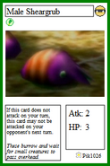 Male Sheargrub Card 1