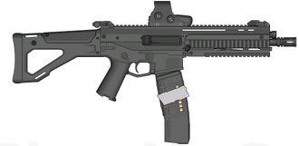 Bushmaster ACR w. dual mags