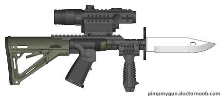 image tactical knife jpg pimp my gun wiki fandom powered by wikia