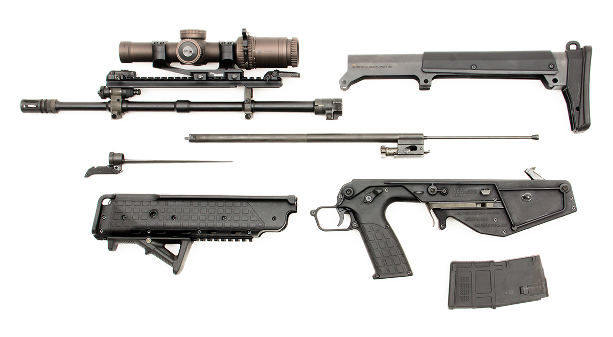image kel tec rdb m43 bullpup rifle disassembled jpg pimp my gun