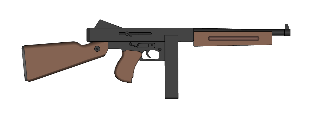 Thompson M1A1 | Pimp My Gun Wiki | FANDOM powered by Wikia