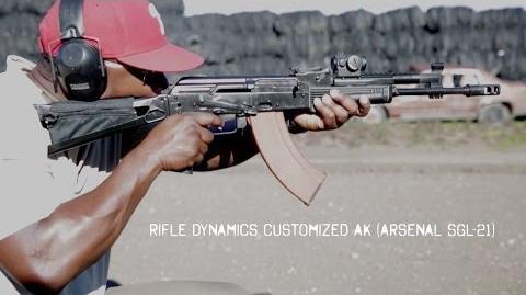 """Rifle Dynamics Customized AK (Arsenal SGL-21)-Rifle Dynamics """"RD-701"""" AK"""