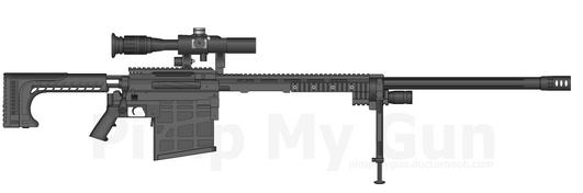 Kaizen Takedown rifle redesign 1