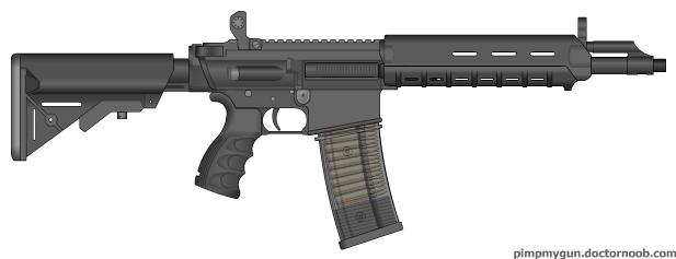 MAC 5.56 (Custom Gun)