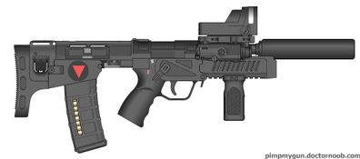 Valkryie Industries U-CAR (Ultra-Compact Automatic Rifle) Tactical