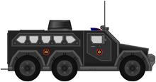 FAC SPF-MP-VII APC Police BOPE