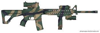 K-16A4 Woodland Tiger Stripe new new