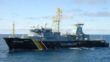 Fischereischutzboot Seeadler im Einsatz