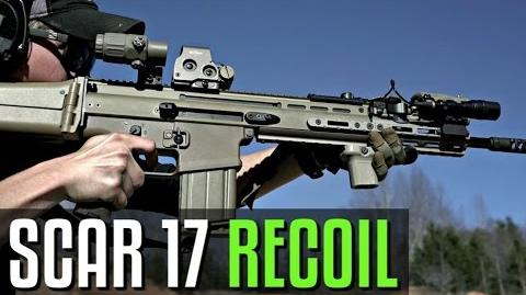 Scar 17 Recoil Demonstration