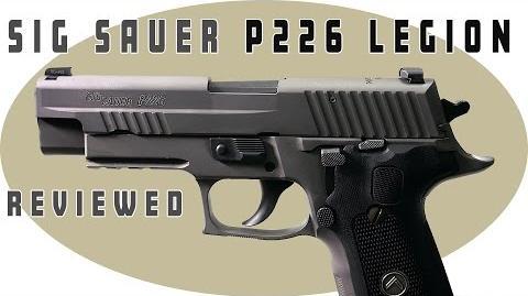 Sig Sauer 226 Legion Review