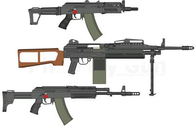 Vurkov Mod Weapons