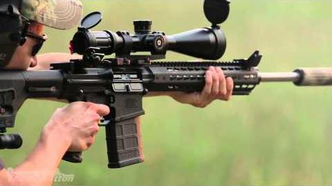 Mega Arms Ma-10 .308 AR-10 Suppressed