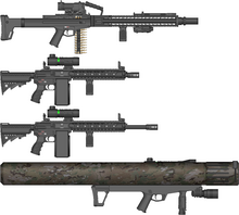 B3S Support Weapons