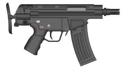 TACTICAL HK G53 closed