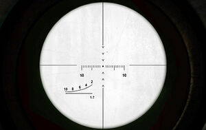 The Crosshair of the scope