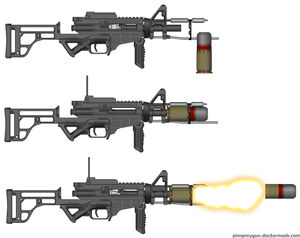 M50 Chemical launcher
