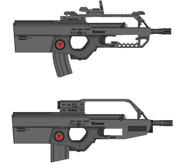 E-BAR Mark 2 Tactical & DMR Versions