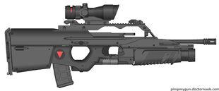 Valkryie Industries E-BAR assault config