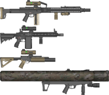 FAC Support Weapons B3S