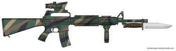 K-16A2 C-18 Woodland Tiger Stripe