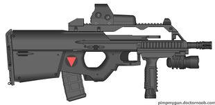 Valkryie Industries E-BAR tactical config