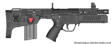 Valkryie Industries U-CAR (Ultra-Compact Automatic Rifle) Revised