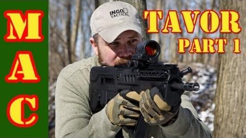 Tavor- First Shots with the US made Tavor