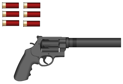 12-Gauge Revolver