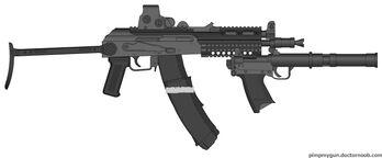 Tactical AKS-74u