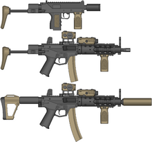 B3S PDW-SMG