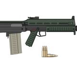 Bellua-pattern autogun