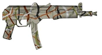 K-813 American Woodland Survival SMG
