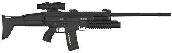 SCAR Marksman's rifle