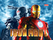Backglass Iron Man