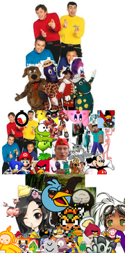 The Wiggles Character Tree