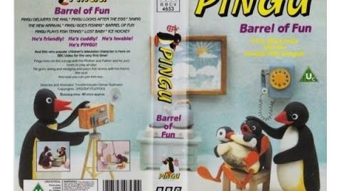 Pingu - Barrel of Fun VHS (1991)