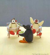 Pingu MANGIA TESTO